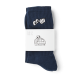 Eyes Socks (Navy)