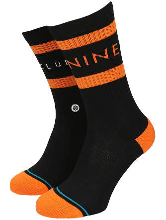 The Nine Club Socks (Black)