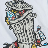Trash Can Tee (White)