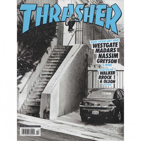 Thrasher Magazine (Oct '18)