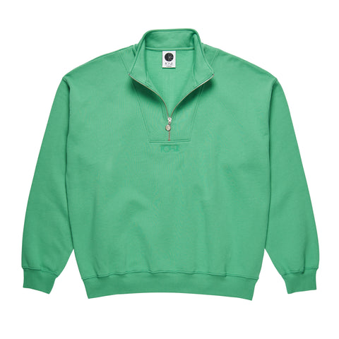 Zip Neck Sweat (Peppermint)