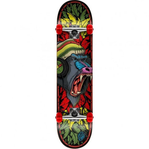 Baboon Graphic Skateboard