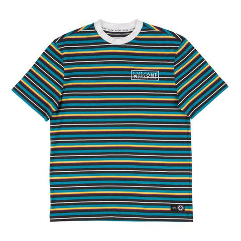 Surf Stripe Tee (Black/White)