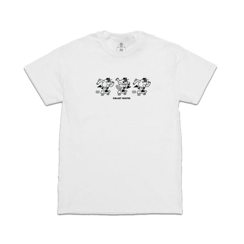Ragin Mascot Tee (White)
