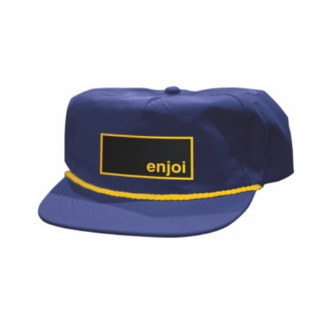 Box Logo Rope Cap (Navy)