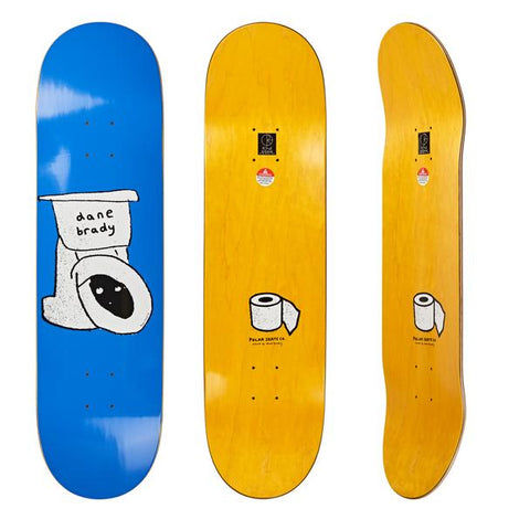Brady Toilet Deck (Blue)