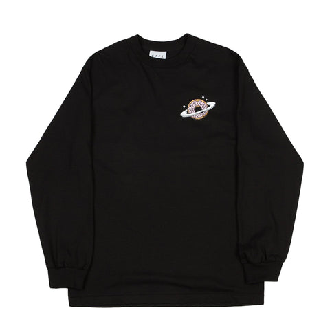 Planet Donut Longsleeve tee (Black)