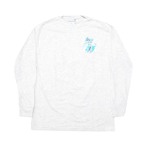 Cup Long sleeve tee (Ash Heather)