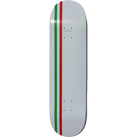 Stripe Deck (White/Green/Red)
