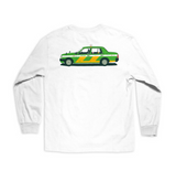 World Taxi Long Sleeve Tee (White)