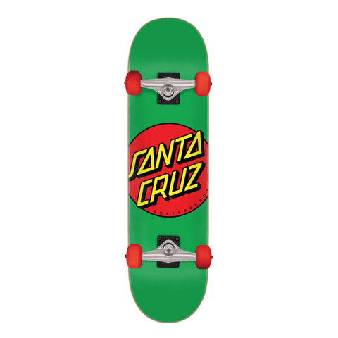 Classic Dot Green (Mini) Complete Skateboard
