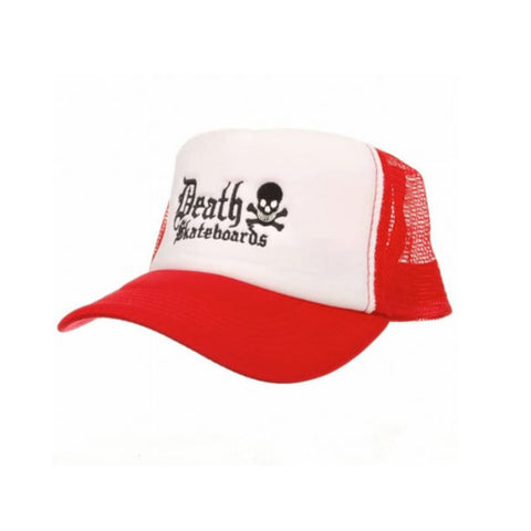 Death Trucker Cap (Red/White)