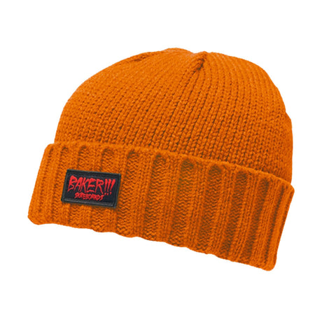 Splatter Beanie - Orange