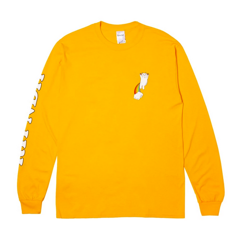Double Nerm Rainbow Longsleeve (Gold)