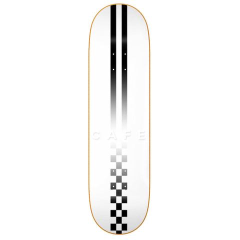 Fast Check Embossed Deck - White