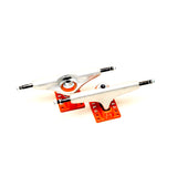 Bastian Marlin Trucks (Orange/Silver)