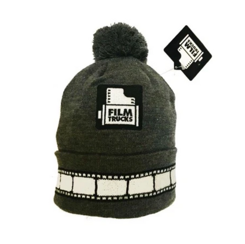 Camera Roll Bobble Beanie