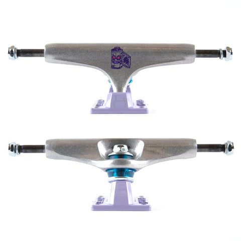 Fos Collab Trucks (Purple/Silver)