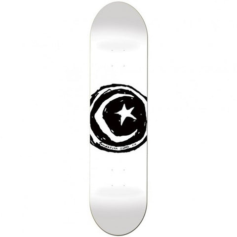 Star And Moon Deck (White)