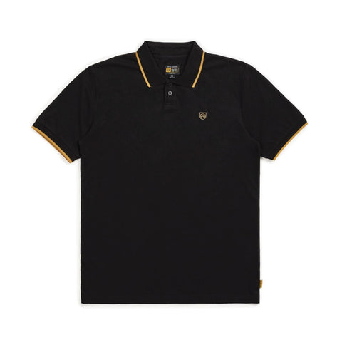 Guard S/S Polo Shirt (Black)