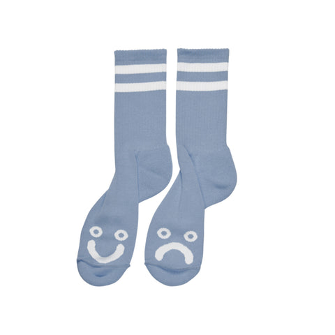 Happy / Sad Socks (Light Blue)