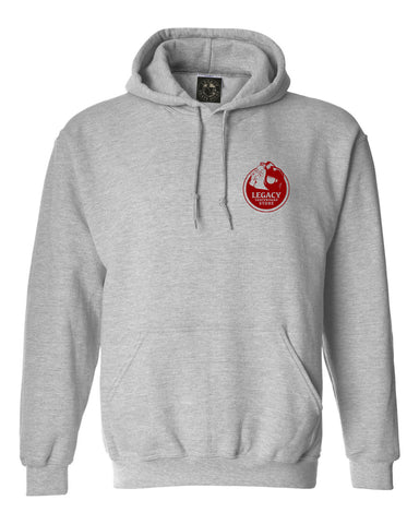 Love You Hoodie (Heather/Blood Red)