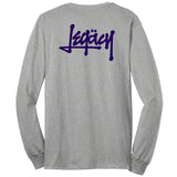 Legüssy Long Sleeve Tee (Heather/Navy)