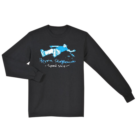Good Shit Long Sleeve Tee  (Black)