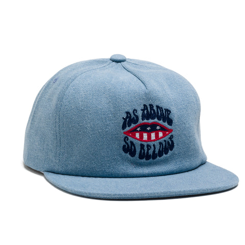 Above & Below Snapback Cap