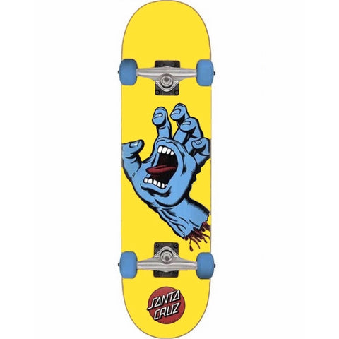 Screaming Hand Complete Skateboard (Yellow)
