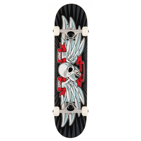 Falcon 1 (Black/Red) Stage 3 Complete Skateboard