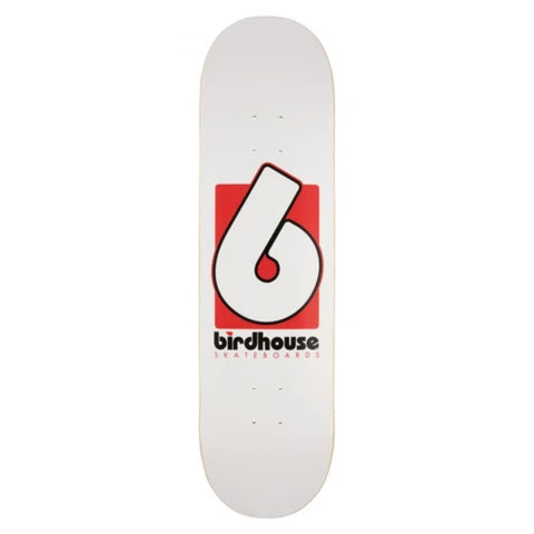 B Logo Deck (White)