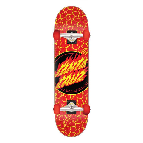 Flame Dot Large Complete Skateboard