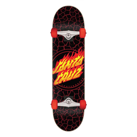 Flame Dot Full Complete Skateboard