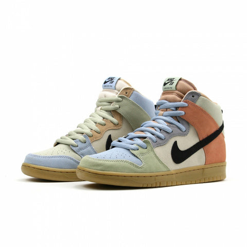 Dunk High Pro (Particle Grey/Black-Terra Blush)