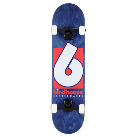B Logo (Navy/Red) Stage 3 Complete Skateboard