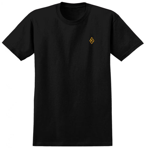 Diamond K EMB Tee (Black/Gold)