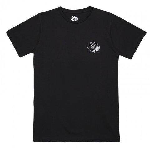 Plant Outline Tee (Black)