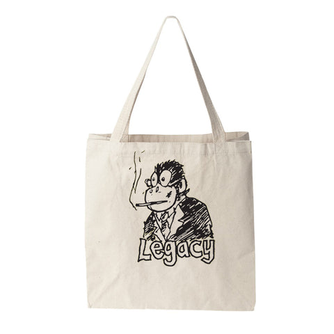 Smoking Monkey Tote
