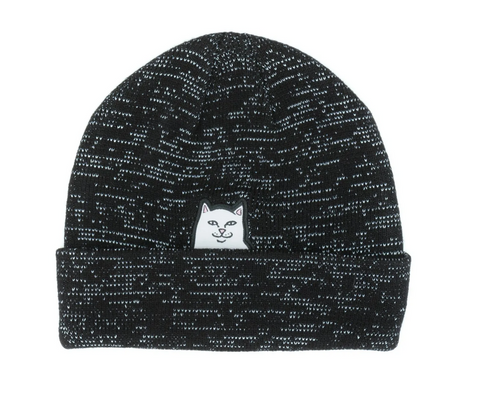 Lord Nermal Beanie (Black/Reflective)