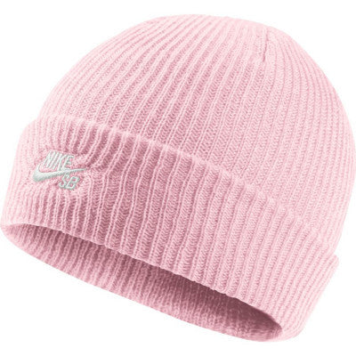 Fisherman Beanie (Pink/White)