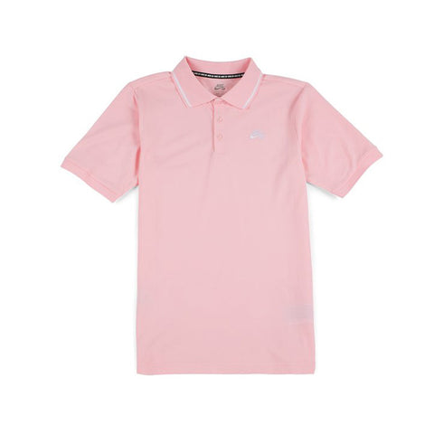 Polo Shirt (Pink/White)