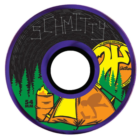 Key Frame (Campy Schmitty) Wheels 87a (Purple)