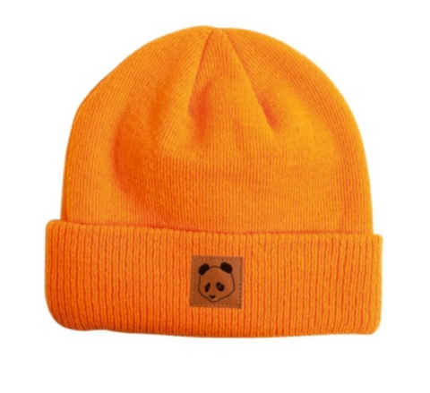 Patch Beanie (Orange)