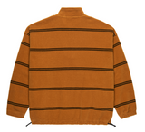 Striped Fleece Pullover 2.0 (Caramel)