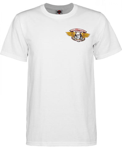 Winged Ripper Tee (White)