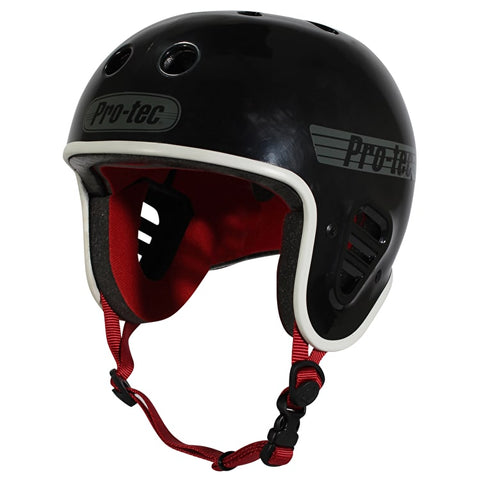 Pro-Tec Full Cut Helmet (Gloss Black)