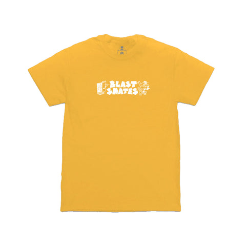 Ragin Mascot Tee (Gold)