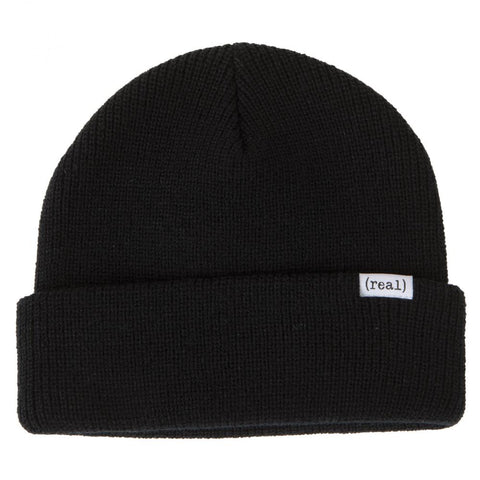 Real Lower Beanie (Black)