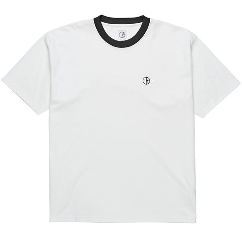 Ringer Tee (White/Black)